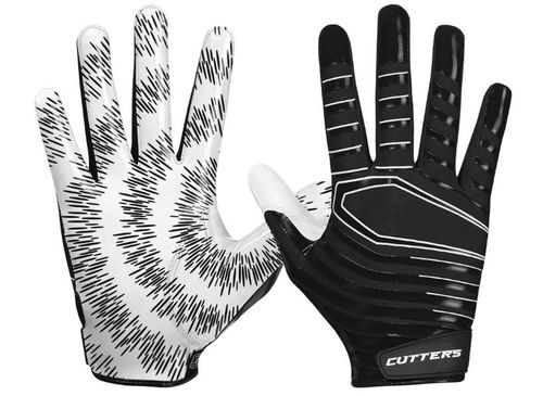 Cutters Rev 3.0 Football Receiver Gloves - Boys'