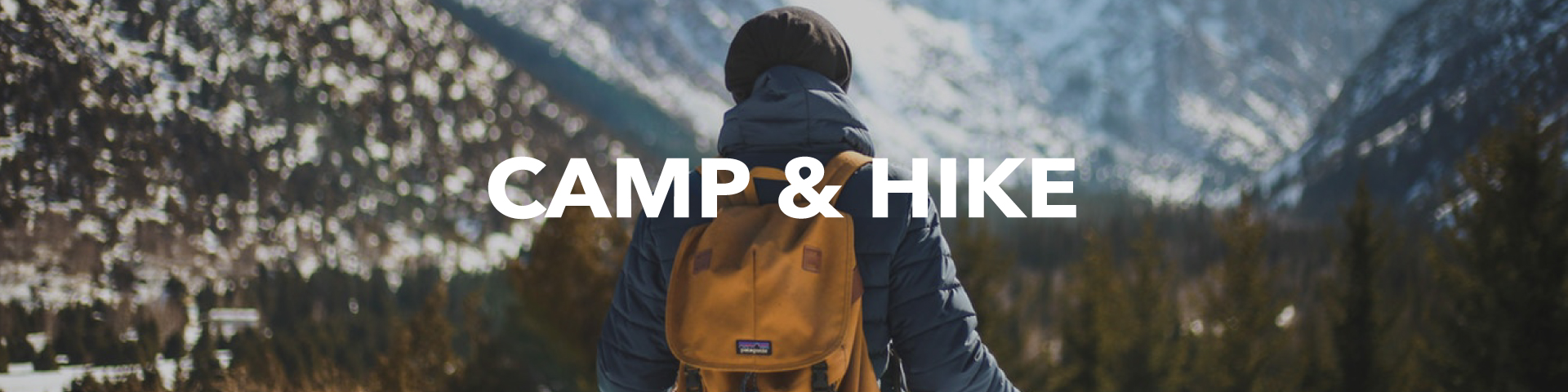 Camp & Hiking Department
