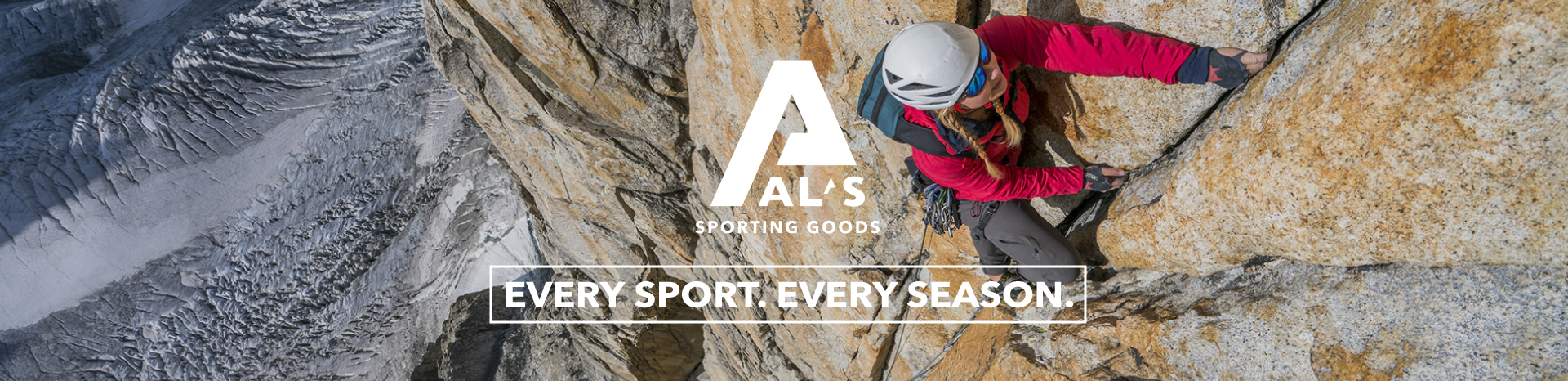 Al's Sporting Goods. Every Sport. Every Season.
